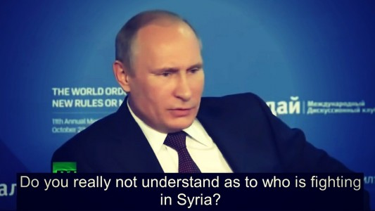 PUTIN BLOWS THE WHISTLE On WHO Really CREATED ISIS & How It Continues To Grow