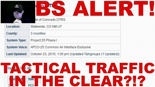 BS ALERT! All Planned Parenthood Shooting Tactical Traffic In The Clear?!?